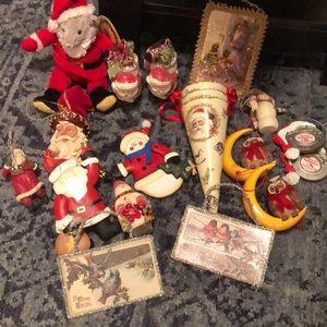 Vintage Christmas Ornament Bundle